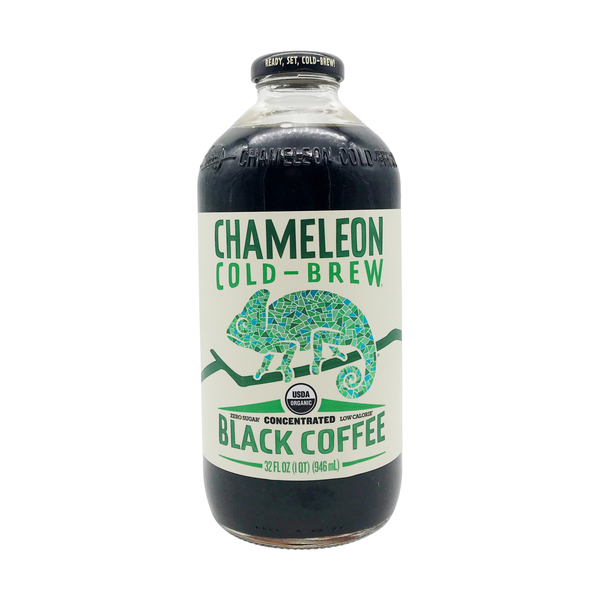 Organic Cold-Brew Black Coffee, 32 fl. oz.
