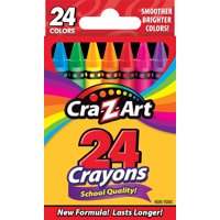 Cra-Z-Art 24 Count School Quality Crayons