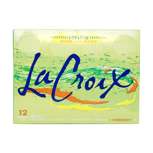 Lacroix sparkling water Key Lime Sparkling Water 12 Pack, 144 fl oz