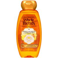 Garnier Whole Blends Illuminating Shampoo Moroccan Argan & Camellia Oils Extracts