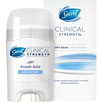 Secret Clinical Strength Advanced Solid Women's Antiperspirant & Deodorant Light & Fresh Scent