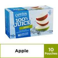 Capri Sun 100% Apple Juice, 6 fl oz Box