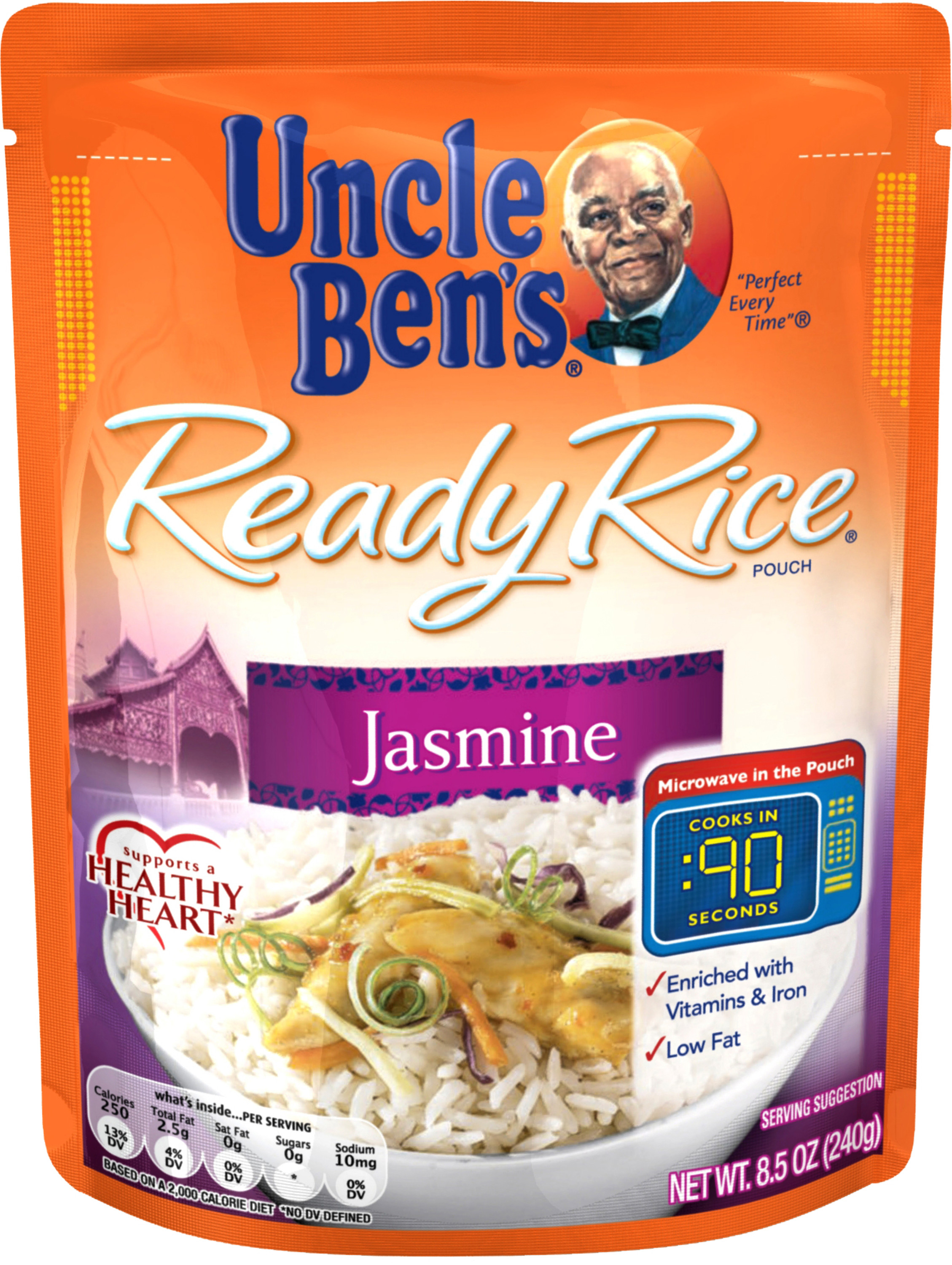 UNCLE BEN'S Ready Rice: Jasmine, 8.5oz