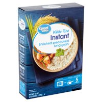 Great Value Instant White Rice, 42 oz