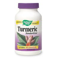 Nature's Way Turmeric, Standardized, Tablets