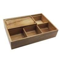 Better Homes & Gardens Wood Organizer, 1 Each