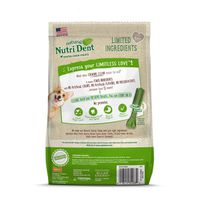 Nutri Dent Natural Dental Chew Treats For Dogs Food