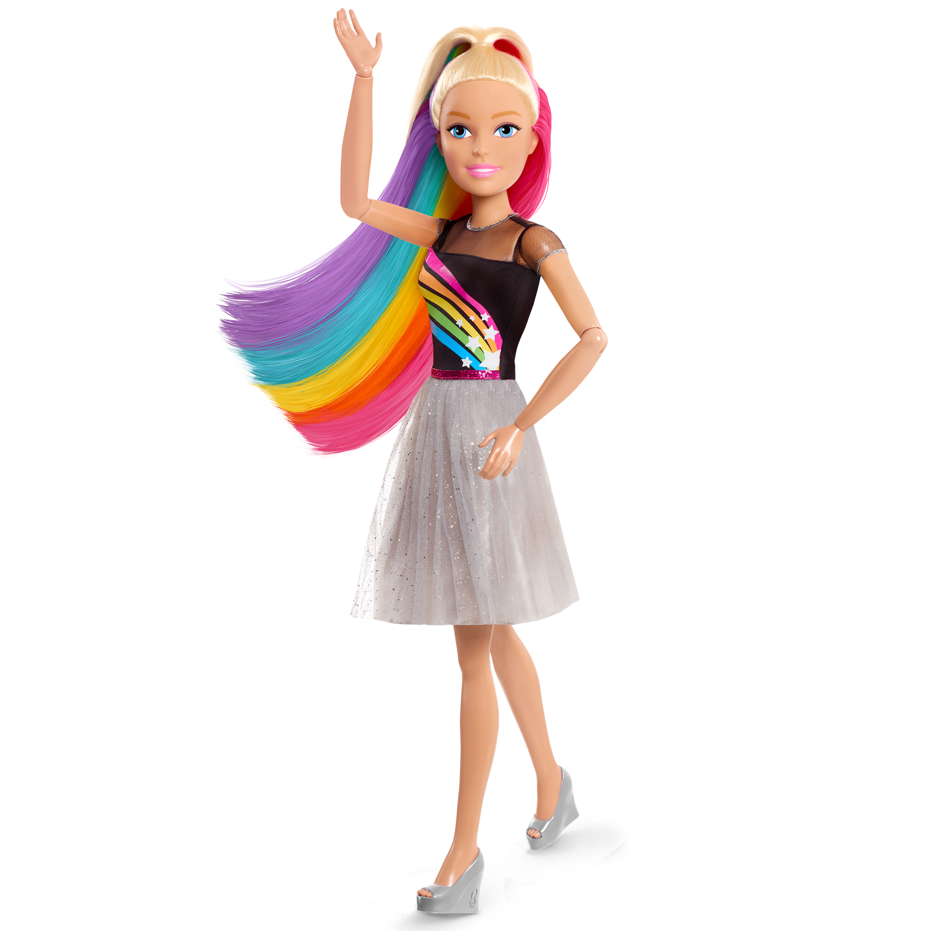 Awesome Rainbow Sparkle Hair Barbie Target wallpapers to download for free greenvirals