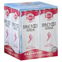 Barefoot Refresh Rose Moscato Spritzer, 4 pack, 187 mL cans