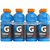 Gatorade Thirst Quencher Fierce Sports Drink, Blue Cherry, 20 Fl Oz, 8 Count