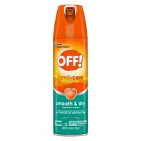 OFF! FamilyCare Insect Repellent I, Smooth & Dry, 4 oz (1 ct)