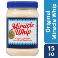 Miracle Whip Original Dressing, 15 fl oz Jar