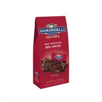 Ghirardelli Dark 60% Cacao Chocolate Squares - 6oz