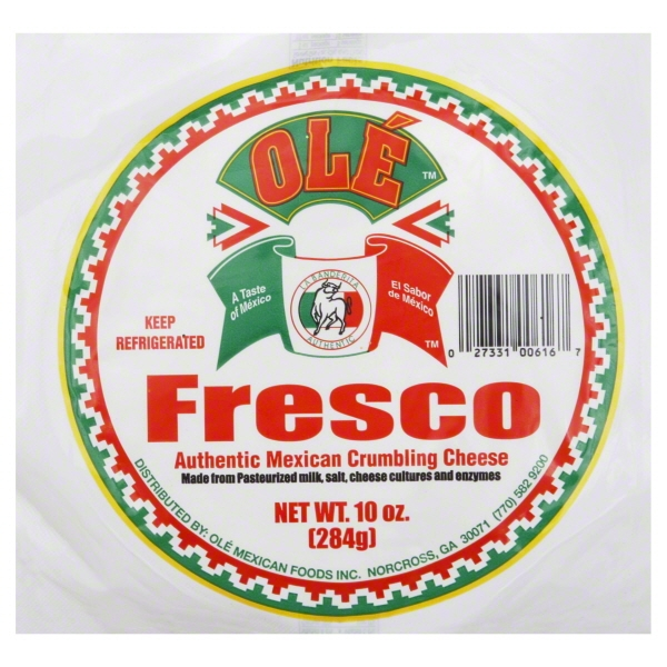 Ole Mexican Ole  Crumbling Cheese, 10 oz
