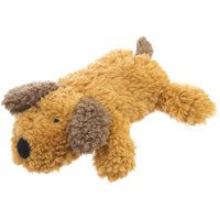 Super Soft Squeaky Dog Toy, Brown Puppy, 6.5""