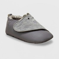 Ro+Me by Robeez Baby Boys' Bear Sneakers - Gray 6-12M