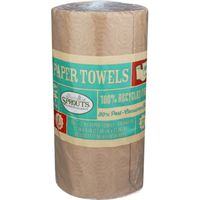 Sprouts 2 Ply Unbleached Paper Towels
