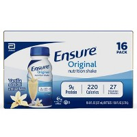 Ensure Original Nutrition Shake - Vanilla - 16ct/128 fl oz