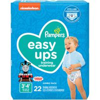 Pampers Easy Ups Training Underwear Boys Size 5 3T-4T