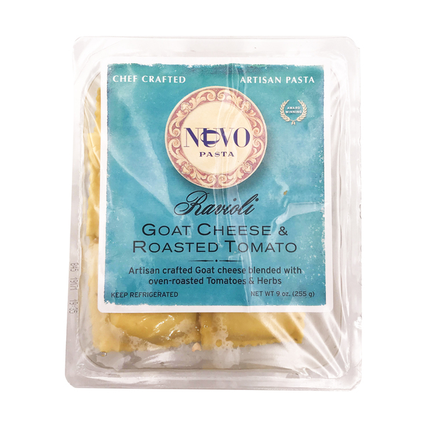 Nuovo pasta Goat Cheese & Roasted Tomato Ravioli, 9 oz