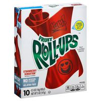 Fruit Roll-Ups Strawberry Sensation Betty Crocker