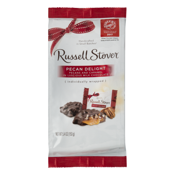 Russell Stover Chocolate Pecan Delight