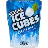 Ice Breakers Ice Cubes Sugar Free Gum Peppermint