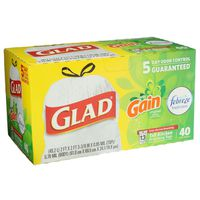 Glad Tall Kitchen Drawstring Bags Gain Original