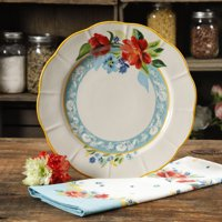 "The Pioneer Woman Stoneware 11"" Spring Bouquet Dinner Plate"