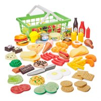 Kid Connection 100-Piece Play Food Set