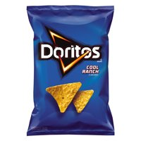 Doritos Cool Ranch Flavored Tortilla Chips, 3.125 oz. Bag