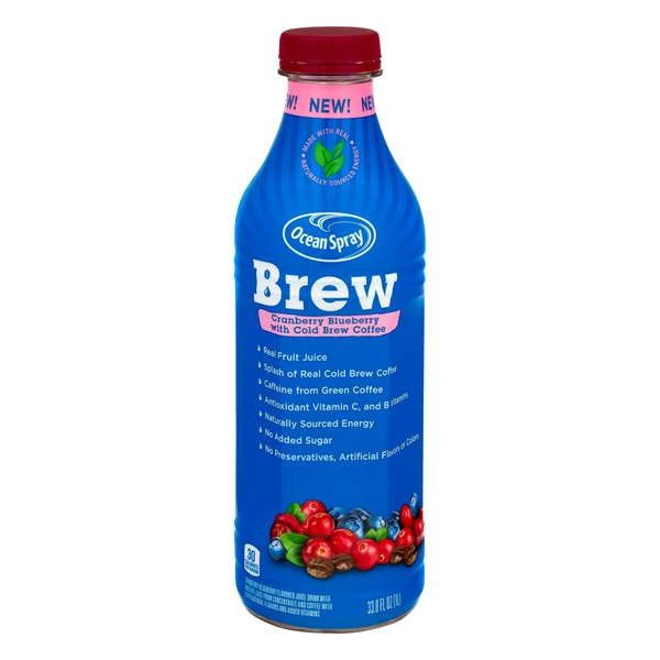 Ocean Spray Brew Cranberry Blueberry with Cold Brew Coffee