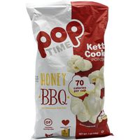 Poptime Honey Bbq With Himalayan Pink Salt Kettle Cooked Popcorn