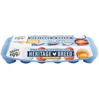 Happy Egg Co Heritage Breed Blue & Brown Free Range Large Grade A Eggs