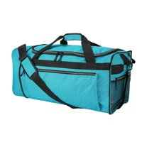 """Protege 28"""" Rolling Compactible Duffel, Teal"""