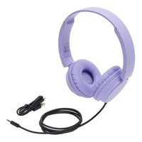 onn. Wireless On-Ear Headphones, Purple