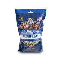 Pit Boss All Natural Barbecue Hardwood Hickory Pellets, 2 Lb.
