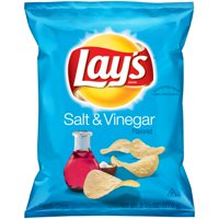 Lay's Salt & Vinegar Potato Chips 2.75 oz. Bag