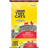 Purina Tidy Cats Non Clumping Cat Litter, 24/7 Performance Multi Cat Litter (Multiple Sizes)