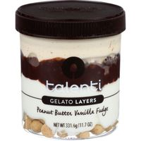 Talenti Gelato Layers, Peanut Butter Vanilla Fudge