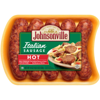 Johnsonville Hot Italian Sausage 5 count, 19 oz
