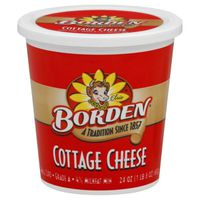 Borden Cottage Cheese, Small Curd, 4% Milkfat Min