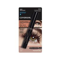 CoverGirl Waterproof Hydrofuge Exhibitionist Uncensored Mascara, 990 Extreme Black