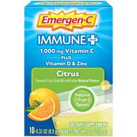 Emergen-C Citrus Flavor Dietary Supplement With Vitamin D Fizzy Drink Mix