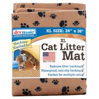 Drymate, Cat Litter Mat, Extra Large, Tan Paw