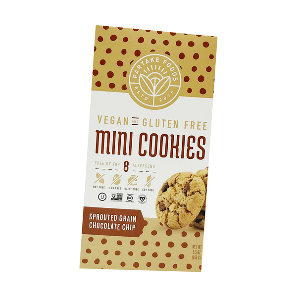 Choc Chip Sprouted Grain Mini Cookies, 5.5 oz