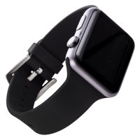 Silicone Band for 38 & 40MM Apple Watch® - Black