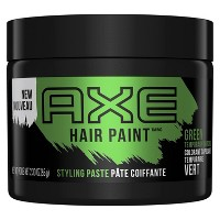 AXE Hair Paint Temporary Green Color Styling Paste - 2.3oz