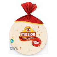 Mission Fajita Flour Tortillas, 20 Count (23 oz.)
