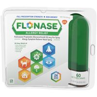 Flonase Allergy Relief, Full Prescription Strength, 24 Hour Relief, Non-Drowsy